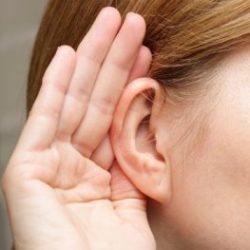 Ты стала плохо слышать?