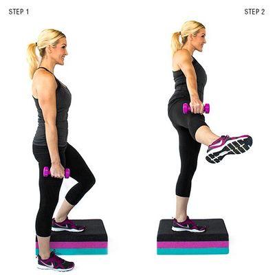 3 упражнения против целлюлита на ягодицах и бедрах