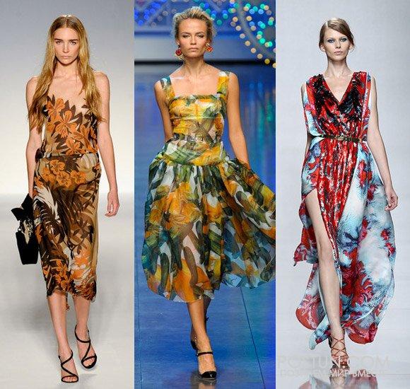Модели платьев к летнему сезону