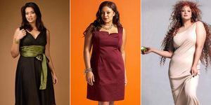 Мода для полных 2012 – фото, тренды