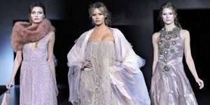 Giorgio Armani мода осень-зима 2011-2012