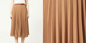 Тренд сезона – плиссированная юбка