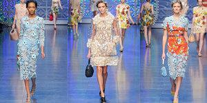 Мода на кружевное платьице