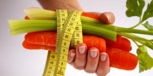 Женская диета очами желудка