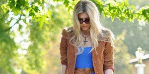 21 метод носить длинноватую юбку осенью