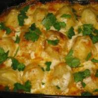 Наивкуснейший рецепт запеченного картофеля